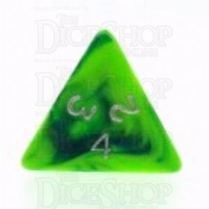 D&G Toxic Slime Green & Blue D4 Dice