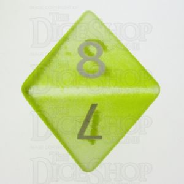 TDSO Cats Eye Yellow 16mm Precious Gem D8 Dice