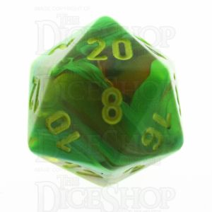 Chessex Vortex Slime D20 Dice