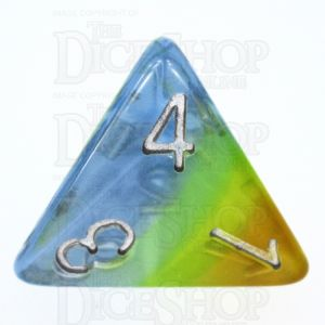 TDSO Layer Transparent Astral D4 Dice