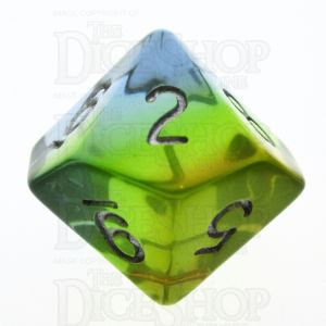 TDSO Layer Transparent Astral D10 Dice