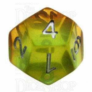 TDSO Layer Transparent Astral D12 Dice