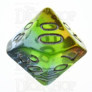 TDSO Layer Transparent Astral Percentile Dice