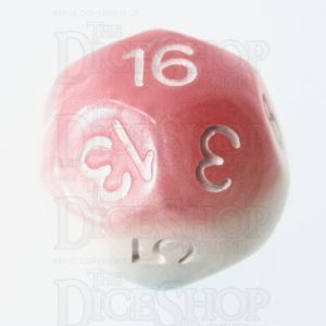 Impact Cotton Candy & White D16 Dice