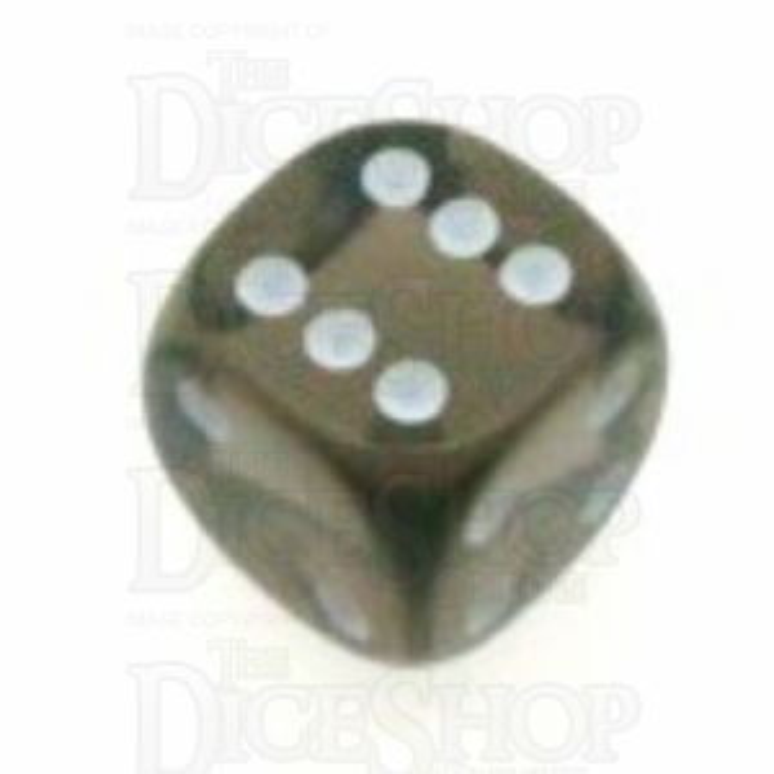 D&G Gem Smoke 15mm D6 Spot Dice