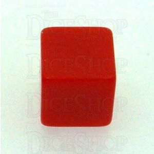 D&G Opaque Blank Red 14mm D6 Dice