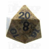 TDSO Jasper Picture 16mm Precious Gem D20 Dice