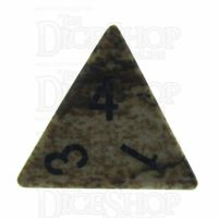 TDSO Jasper Picture 16mm Precious Gem D4 Dice