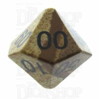 TDSO Jasper Picture 16mm Precious Gem Percentile Dice