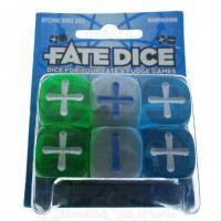 Evil Hat Atomic Robo Fudge Fate 12 x D6 Dice Set