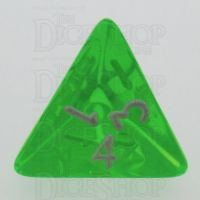 TDSO Bright Gem Emerald D4 Dice