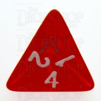 TDSO Bright Gem Ruby D4 Dice