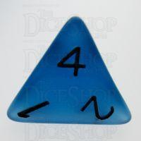 TDSO Frost Blue Glow in the Dark D4 Dice