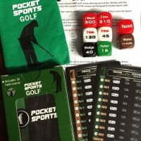 Pocket Sports Golf D6 Dice Game NEW EDITION