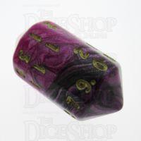 Crystal Caste Toxic Fallout D20 Dice