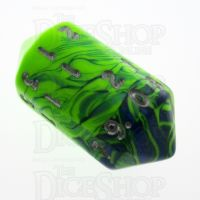 Crystal Caste Toxic Slime D20 Dice