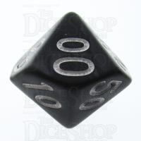 TDSO Pearl Black & White Percentile Dice