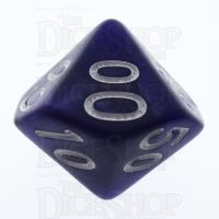 TDSO Pearl Purple & White Percentile Dice