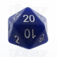 Tessellations Opaque Blue Numerically Balanced D20 Dice