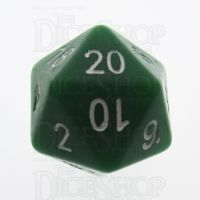 Tessellations Opaque Green Numerically Balanced D20 Dice