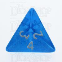TDSO Bright Gem Sapphire D4 Dice