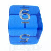 TDSO Bright Gem Sapphire D6 Dice