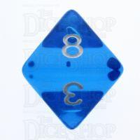 TDSO Bright Gem Sapphire D8 Dice