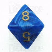 Chessex Vortex Blue D8 Dice