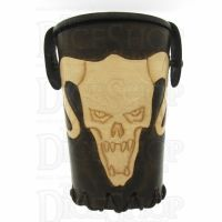 QD Beastmaster Brown Leather Dice Cup