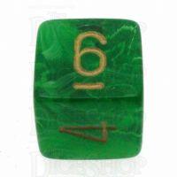 Chessex Vortex Green D6 Dice