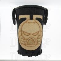 QD Space Marine Black Leather Dice Cup