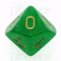 Chessex Vortex Green D10 Dice