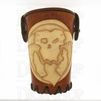 QD Orc Tan Leather Dice Cup