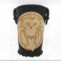 QD Orc Black Leather Dice Cup