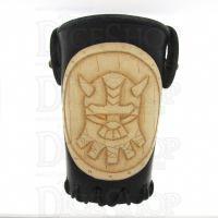 QD Dwarven Black Leather Dice Cup