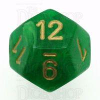 Chessex Vortex Green D12 Dice
