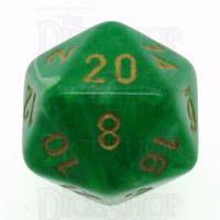 Chessex Vortex Green D20 Dice