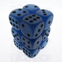 TDSO Frost Blue Glow in the Dark 12 x D6 Dice Set