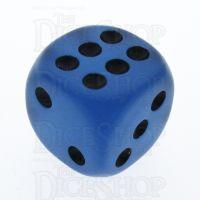 TDSO Frost Blue Glow in the Dark 16mm D6 Spot Dice