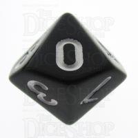 TDSO Opaque Black D10 Dice