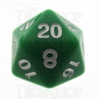 TDSO Opaque Green D20 Dice