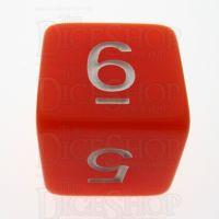TDSO Opaque Orange D6 Dice