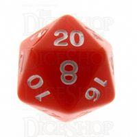 TDSO Opaque Orange D20 Dice