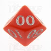 TDSO Opaque Orange Percentile Dice