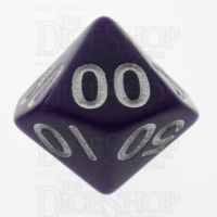 TDSO Opaque Purple Percentile Dice