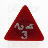 TDSO Opaque Red D4 Dice