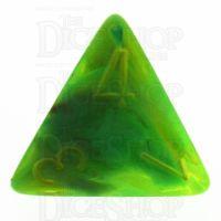Chessex Vortex Slime D4 Dice