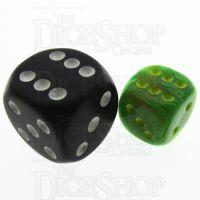 Chessex Vortex Slime 12mm D6 Spot Dice