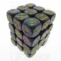 Chessex Festive Mosaic 36 x D6 Dice Set