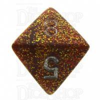Chessex Glitter Gold D8 Dice